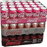 Coca Cola Cherry, Coca Cola Light & Coca Cola Zero je 24 x 0,33l Dose XXL-Paket (72 Dosen gesamt)