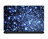 #8: Ownclique Abstract Glowing Glitters Laptop skin for 17 inches Laptop, Compatible for Dell-Lenovo-Acer-HP-Vaio-Samsung Laptops [HD Print - Matte Lamination]