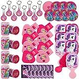 My Little Pony 48 teiliges Partygeschenke Set - 6 verschiedene Spielsachen für 8 Partygeschenke