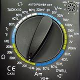Digital Automotive Multimeter HP-760J, Dwell, Tacho -