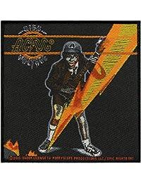 AC/DC Badges High Voltage Album–Patch tissé 10x 10,5cm