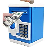 Cable World® Money Safe ATM Kids Piggy Savings Bank with Electronic Lock Piggy Bank ATM with Password ( Assorted Color…