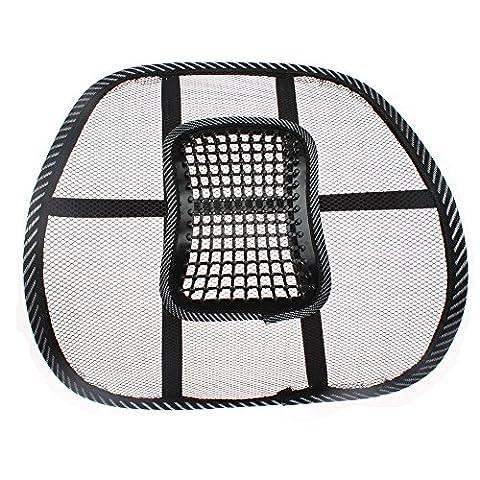 Mesh unteren Rücken Lendenwirbelstütze Kissen Schmerzlinderung Auto Stühle Cooles Massage Sitz Zurück