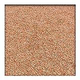 Kieskönig 25 kg Marmor Fugensplitt 1-3 mm für dekorative farbige Pflaster- oder Plattenfugen Rot
