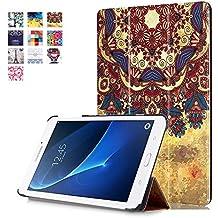 """Cover para Galaxy Tab A SM-T280N,Carcasa para Tablet Samsung Galaxy Tab A6 7.0"""" SM-T280 / SM-T285,Folio Case Cover con Soporte Funda in Pelle para Samsung Galaxy Tab A6 7.0"""" SM-T280 / SM-T285,Estilo de tribu"""
