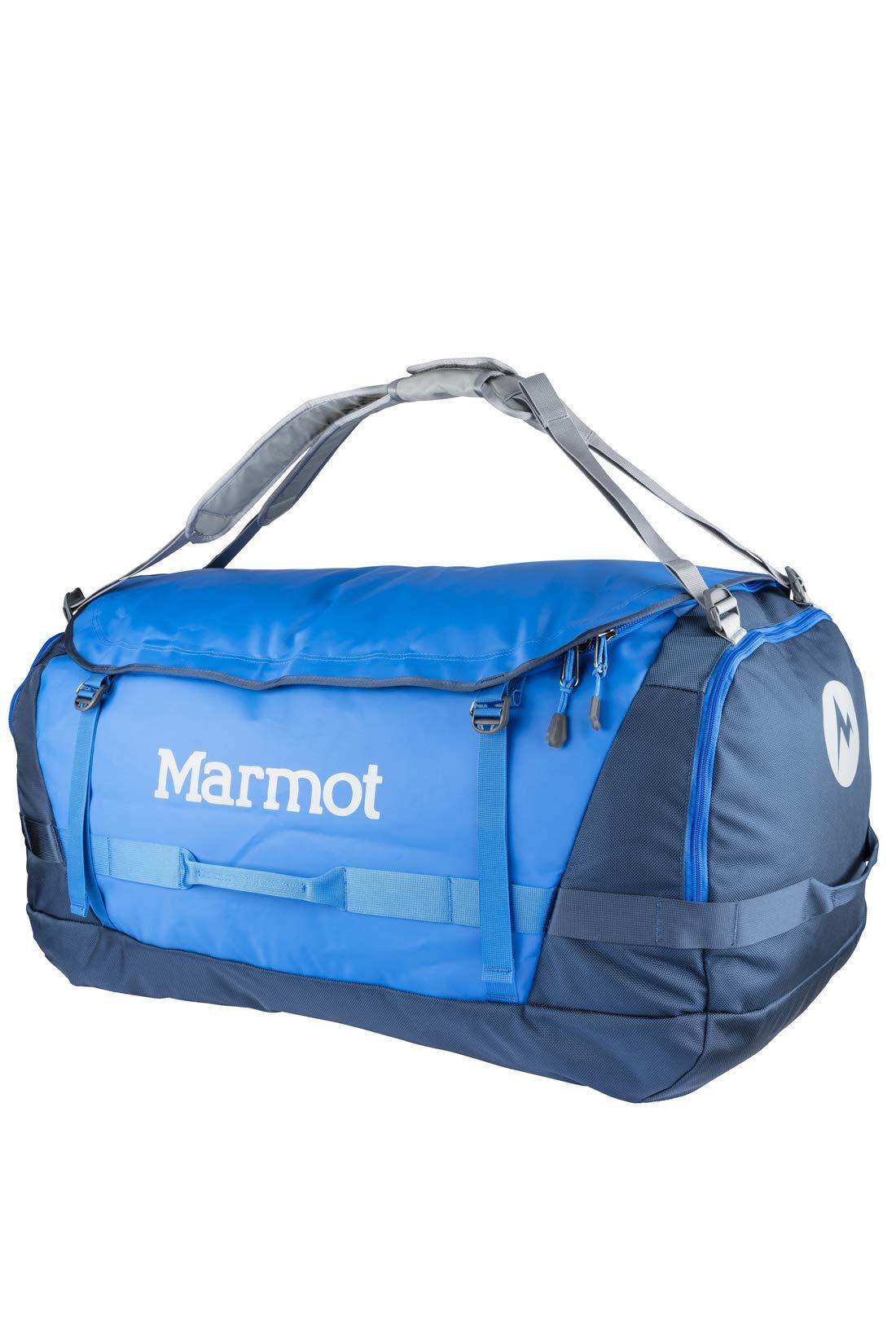 Marmot-Long-Hauler-Duffel-Bag-Expedition-sac-de-Voyage-Grand-et-robuste-Sport-XL-Weekender-Reisetasche-50-cm-125-liters-Blau-Peak-BlueVintage-Navy