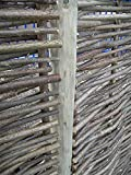 170,6cm Zaunpfosten für Sichtschutzelemente