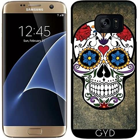 Coque pour Samsung Galaxy S7 Edge - Crâne by WonderfulDreamPicture