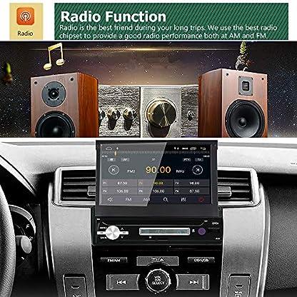 WANGOFUN-Android-60-Autoradio-7-Zoll-Touchscreen-Autoradio-In-Dash-GPS-Navigation-mit-Backup-Kamera-Untersttzung-Bluetooth-USB-SD-Mirro-Link-WiFi-AMFMRDS