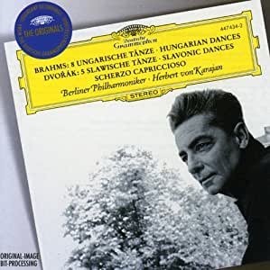 Brahms: 8 Hungarian Dances / Dvorák: 5 Slavonic Dances; Scherzo capriccioso (DG The Originals)