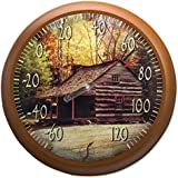 TAYLOR PRECISION PRODUCTS - 13-Inch Lodge Outdoor Thermometer