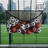Die besten Basketball Tore - flower205Schwimmbad Aufbewahrungstasche Haken Mesh Tasche Football Basketball Aufbewahrungstasche Bewertungen