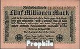 Deutsches Reich Rosenbg: 104a, Reichsdruckerei 1923 5 Millionen Mark (Banknoten für Sammler)