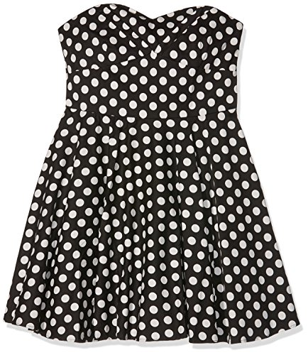 Dolly and Dotty Melissa, Abbigliamento Casual Donna, Schwarz (Black/White B/As), 52