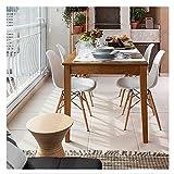 MCC Retro Design Stühle LIA im 2er Set, Eiffelturm inspirierter Style für Küche, Büro, Lounge, Konfernzzimmer etc., 6 Farben, KULT (weiß) - 6