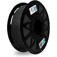 3Idea PLA+ 1.75mm 3D Printer Filament, Dimensional Accuracy +/- 0.03mm (Black, 1 kg)