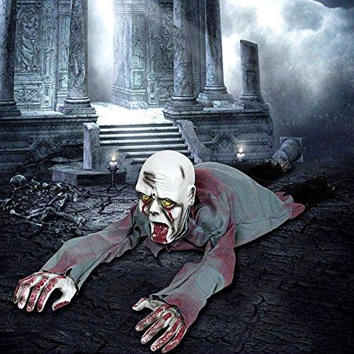 tropicalboy Halloween Deko Kriechender Zombie Puppe Horror Grusel -