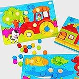 Cuigu Baby Kinder Tangram Holz Pädagogisches Cartoon Puzzle Board Kind Kind Spielzeug Geschenk