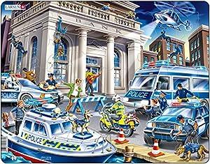 Larsen Maxi LA-US32 Puzzle - Rompecabezas (Rompecabezas de Figuras, Dibujos, Niños, Niño/niña, 3 año(s), Interior)