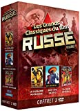 Les Grands Classiques du film Russe Vol.1 : Le Cuirassé Potemkine - Que Viva Mexico - La Ligne Générale / COFFRET 3 DVD