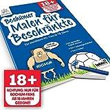 Bochumer Malbuch für Beschränkte | Alle Köln, Schalke & Fußball-Fans Aufgepasst, mit Diesem Malbuch Fördert Ihr Fußball-Freunde & Kollegen | Gemein Witziges Geschenk für VFL Bochum-Fans