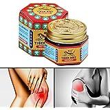 BASOYO La Crema Attiva del balsamo dell'olio di Tigre rinfresca l'olio Essenziale di rilassamento del Muscolo di vertigini de