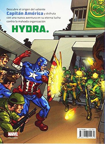 61mF2 wAMCL - Capitán América. Los orígenes: Cuento (Marvel. Los Vengadores)