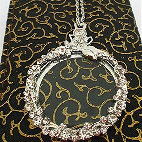 Halsketten-Strickjackeketten-Anhänger der dekorativen Halskette 5X stilvolle schöne Lupe, als...