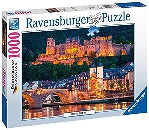 Ravensburger PR-196210 Puzzle Puzzle - Rompecabezas (Puzzle Rompecabezas, Ciudad, Niños y Adultos, Heidelberg, Niño/niña, 14 año(s))