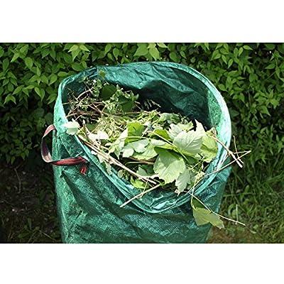 4 x Gartensack Laubsack Rasensack Gartenabfallsack Abfallsack 270L 67 x 76cm von ECD Germany - Du und dein Garten