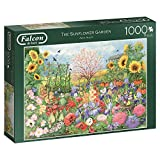 Falcon de luxe 11224 Sunflower Garden 1000 Piece Jigsaw Puzzle, Multi-Colour