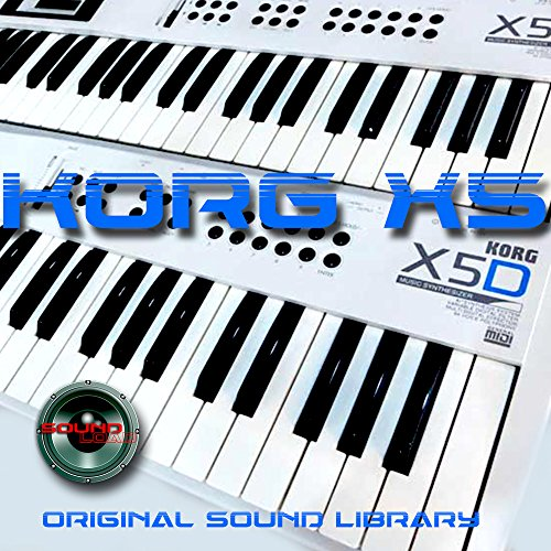 KORG X-5 - THE very Best of - Large Original WAV/Kontakt Samples Library on DVD or download