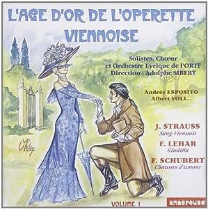 L'age d'or de l'opérette viennoise,  Volume 1 [Import anglais]