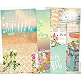 Webster's Pages Color Crush, inserti motivazionali, formato A2, 4 design, acrilico, multicolore