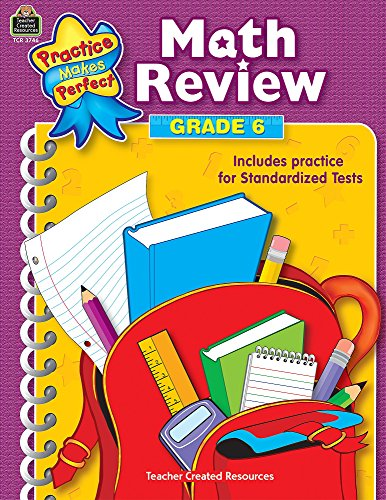 Math Review Grade 6 (Practice Makes Perfect (Teacher Created Materials))