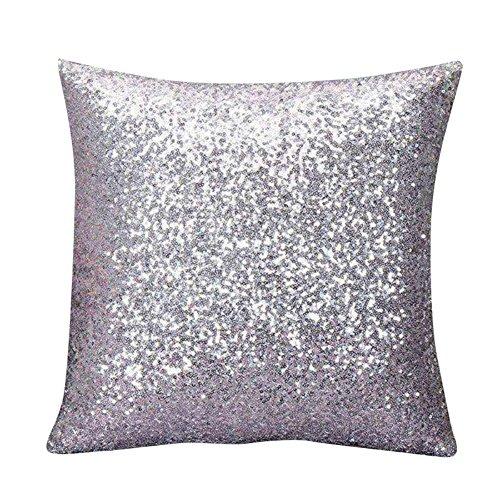 Moresave Glitter Paillettes cuscino di tiro Caso casa Divano decorazione auto federe