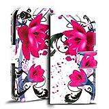 Verco Handyhülle Xperia Z5 Compact Muster, Motiv Hülle Sony Xperia Z5 Compact Book Case Flip Cover - Design 6