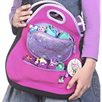 ShopaFun - Shopkins Compatible Organizer and Toy Tote Bag - Lightfast Washable Neoprene - Storage Fun for All Her Games and Play by Felix and Wise