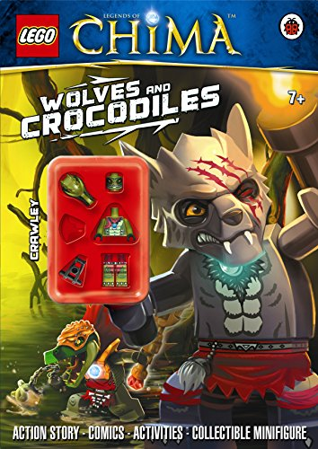 LEGO Legends of Chima: Wolves and Crocodiles Activity Book with Minifigure
