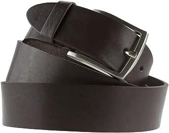 La Bottega del Calzolaio Cintura in cuoio testa di moro uomo donna artigianale made in Italy 4 cm