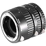 Neewer 3 pièces avec Tube D'Extension Macro pour reflex numérique Nikon AF/AF-S DX N190 FX