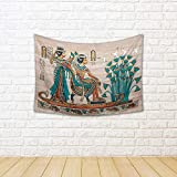 #10: ArtzFolio Papyrus from Egypt Canvas Tapestry Wall Hanging