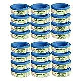 Angelcare 180400-24 24 Nachfüllkassetten Windeleimer Comfort und Deluxe, blau