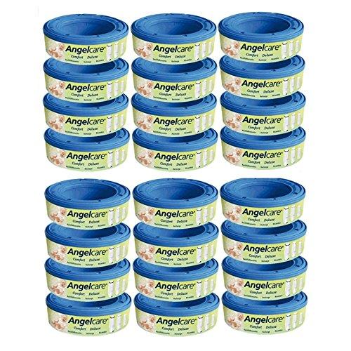 Angelcare 24 Nachfüllkassetten Windeleimer Comfort und Deluxe
