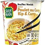 Suzi wan nouilles en pot saveur poulet au curry 62 g - Prix Unitare - Livraison Gratuit Sous 3 Jours