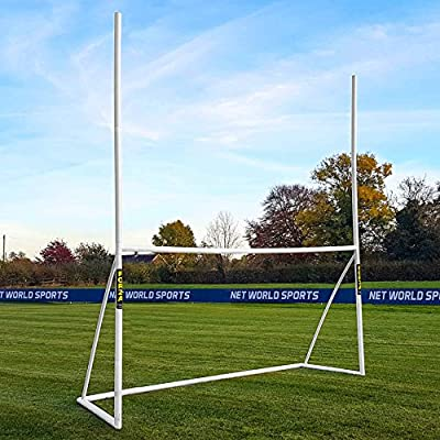 FORZA 12ft x 6ft Combination Football / Rugby / Gaelic Goal & Net - Perfect For Young Stars To Play Multiple Sports! [Net World Sports] by Net World Sports
