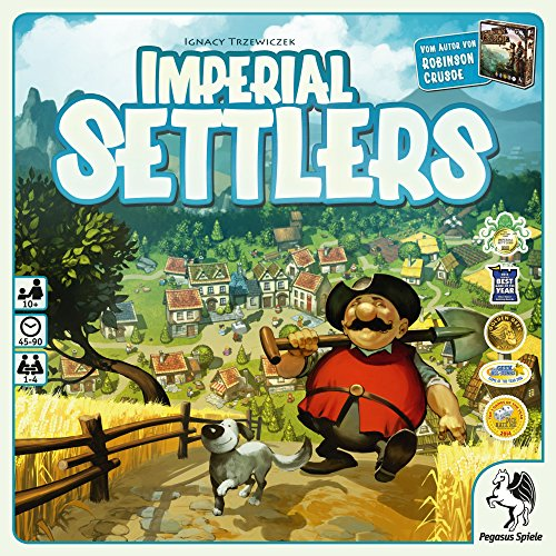 Preisvergleich Produktbild Pegasus Spiele 51962G - Imperial Settlers, deutsche Ausgabe, Brettspiele