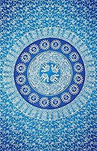 Cotton Hippy indian Mandala Wall Hanging Bohemian Throw Decor Badspread Tapestries