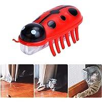 Womdee Katzenspielzeug zum Zerreißen von Katzen, angetrieben, schnell bewegend, Mikro-Robotik-Käfer-Spielzeug, Katzenspielzeug für die Unterhaltung Ihrer Haustiere