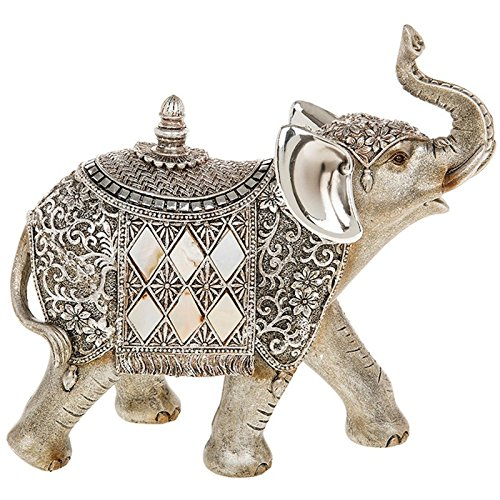 shudehill-silver-pearl-elephant-with-trunk-in-air-ornament